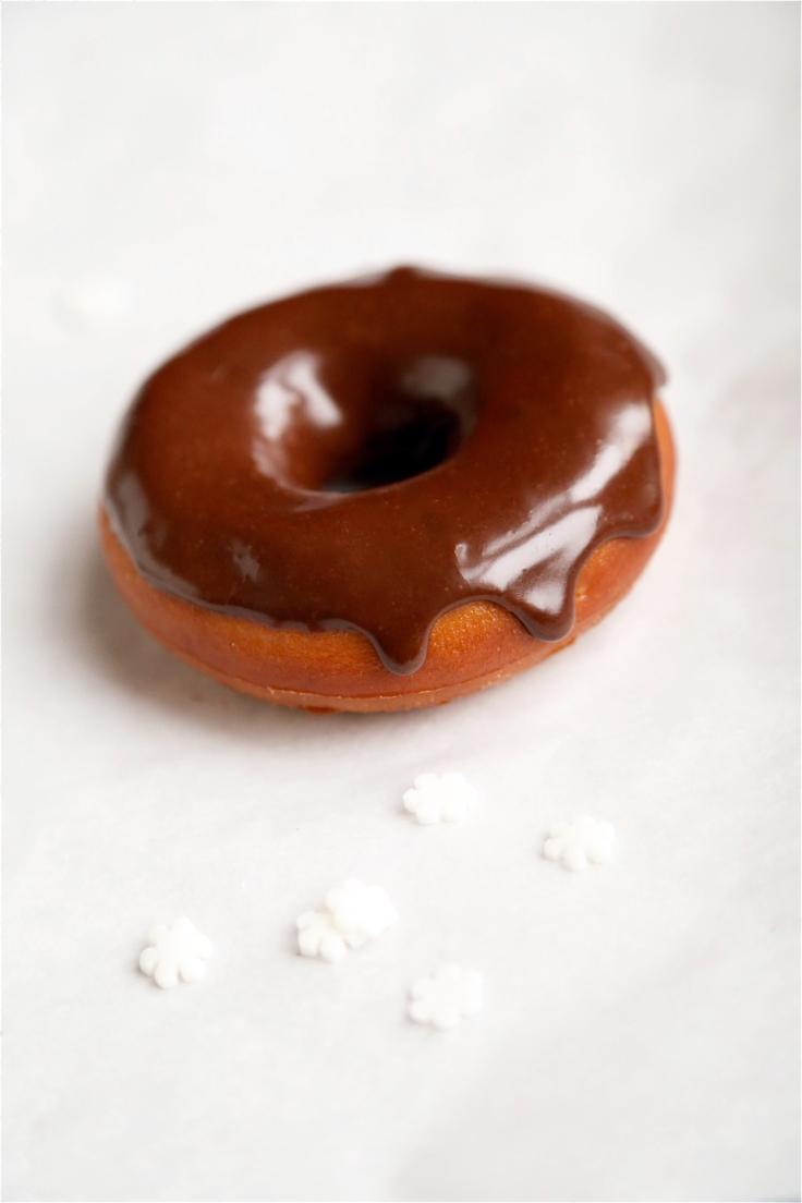 Ciambelle alla vaniglia e cioccolato