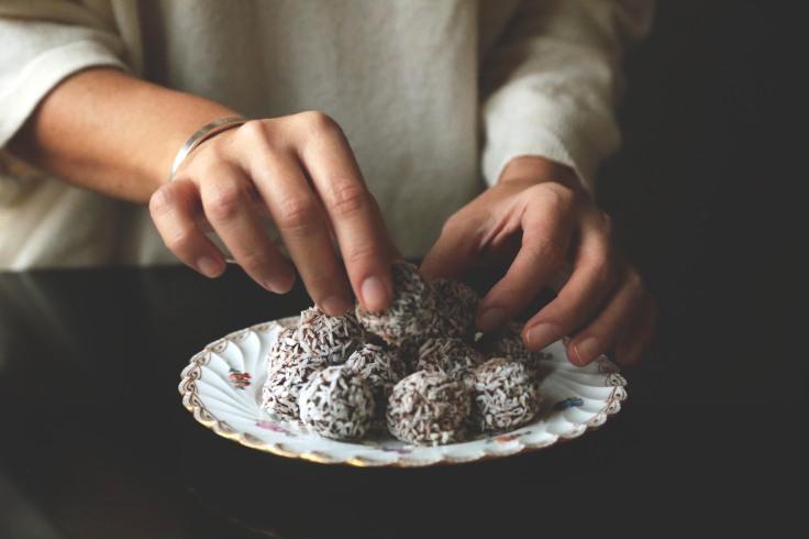 tartufi latte di cocco